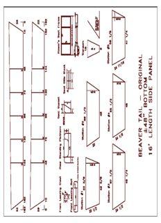 Montana River Boats - Beaver Tail   Dory, Boat  Plan Plans 1