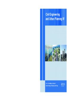 Civil engineering and urban planning IV: proceedings of the 4th International Conference on Civil Engineering and Urban Planning, Beijing, China, 25-27 July 2015