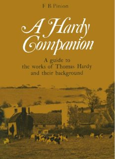 A Hardy Companion: A Guide to the works of Thomas Hardy and their background