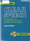 Clear Speech: Pronunciation and Listening Comprehension in American English. Student's Book