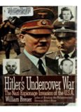 Hitler's Undercover War  The Nazi Espionage Invasion of the U.S.A.