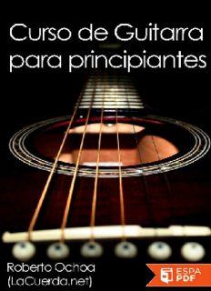 Curso de guitarra para principi - Roberto Ochoa.pdf