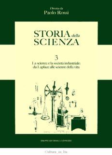 Storia della scienza. La scienza e la società industriale, da Laplace alle scienze della vita