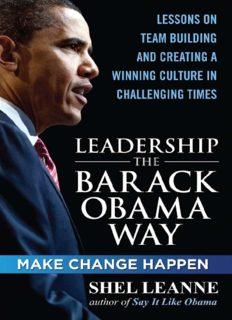 Leadership the Barack Obama Way