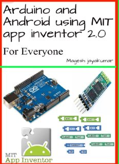Arduino and Android using MIT app inventor 2.0