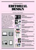 Editorial design : digital and print