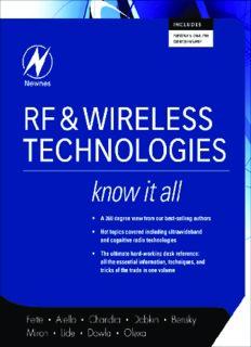 RF & Wireless Technologies (Newnes Know It All)
