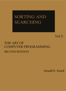 Donald E. Knuth – The Art of Computer Programming