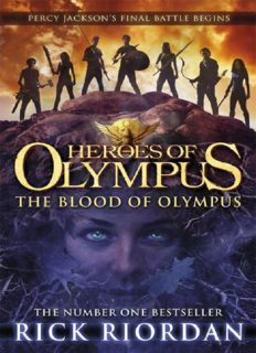 The Heroes of Olympus 05 - The Blood of Olympus