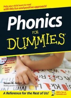 Phonics For Dummies - English Plaza