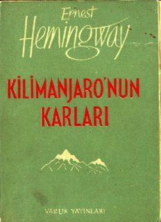 Kilimanjaro'nun Karları - Ernest Hemingway
