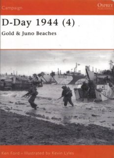 Osprey Campaign 112 - D-Day 1944 (4) Gold & Juno Beaches