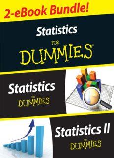 Statistics I & II for dummies (2-eBook bundle)