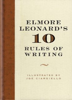 10 Rules of Writing - Elmore Leonard (v5.0).pdf