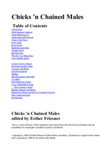 Esther M. Friesner - Chicks 03 - Chicks 'N Chained Males