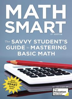 Math Smart: The Savvy Student's Guide to Mastering Basic Math