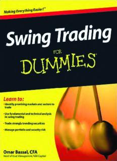 Swing Trading For Dummies: Omar Bassal