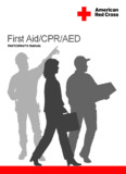 Red Cross First Aid/CPR/AED Participant's Manual