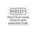 Practical Gear Design Handbook