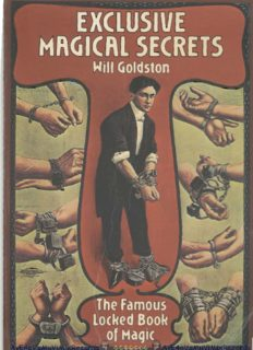 Exclusive Magical Secrets - The Famous Locked Book of Magic [tricks descriptions