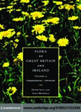 Flora of Great Britain and Ireland: Volume 4, Campanulaceae - Asteraceae (Flora of Great Britain