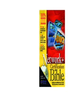 Network+ Certification Bible