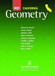 Holt California Geometry