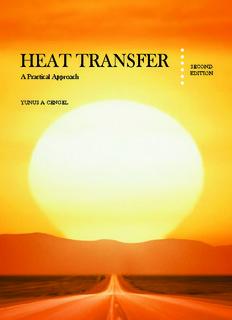 Heat Transfer; A Practical Approach