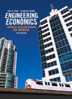 Engineering Economics Financial Decision Making for Engineers