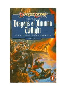 Dragonlance - Chronicles 1 - Dragons Of Autumn Twilight