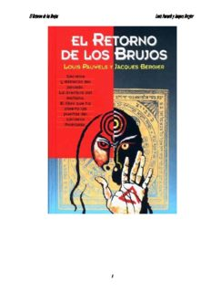 El Retorno de los Brujos Louis Pauwels y Jacques Bergier