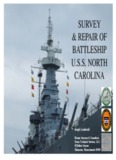 USS North Carlolina Survey and Repair