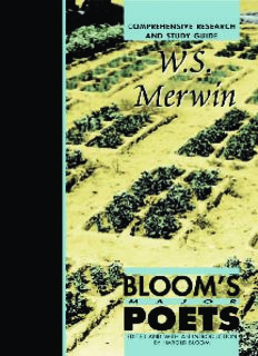 WS Merwin (Bloom's Major Poets)