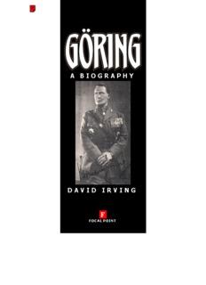 Göring: A Biography