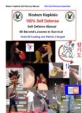 C.O.R.E. Self Defense Manual - Hapkido Defense System