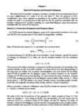 Chapter 1 Spectral Properties and Invariant Subspaces We show that if an invariant subspace ...