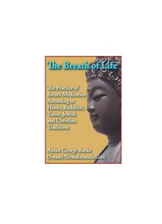 Breath of Life: The Practice of Breath Meditation