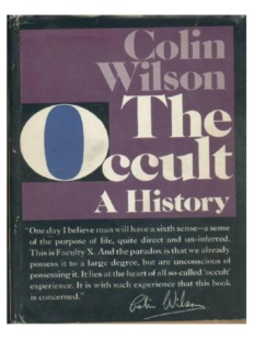 Colin Wilson - The Occult
