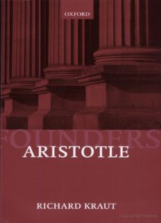 Aristotle: Political Philosophy (Founders of Modern Political and Social Thought)