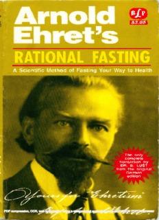Arnold Ehret – Rational Fasting