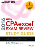 Wiley CPAexcel Exam Review 2016 Study Auditing and Attestation