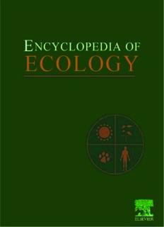 Encyclopedia of Ecology, Five-Volume Set, Volume 1-5