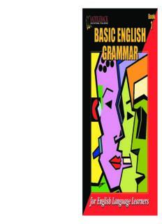 Basic English Grammar: For English Language Learners (Basic English Grammar for English Language Learners)