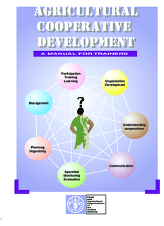 Agricultural cooperatives development - Food and Agriculture