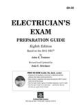 Electrician's Exam Preparation Guide (2011 NEC)