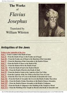The Complete Works of Flavius Josephus- pdf