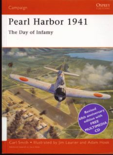 Osprey Campaign 062 - Pearl Harbor 1941 Day of Infamy