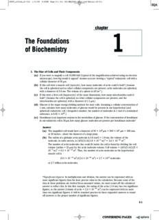 Solutions Manual for Lehninger Principles of Biochemistry 5ed. (Freeman, 2008)