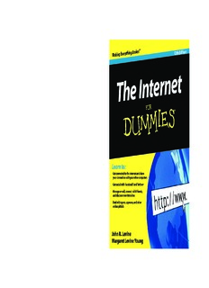 The Internet For Dummies, 12th Edition