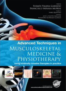 Advanced Techniques in Musculoskeletal Medicine & Physiotherapy: using minimally invasive therapies in practice